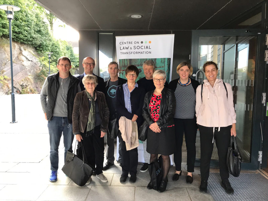 The research team at Bergen Exchanges 2017